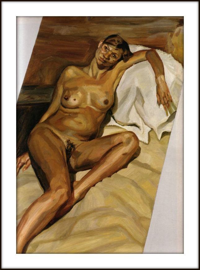 Kate Moss by Lucian Freud.