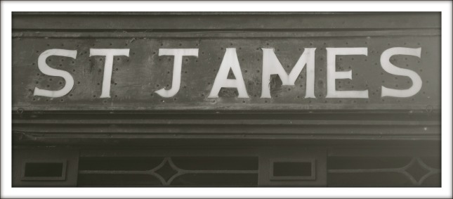 St James Train Station, Hyde Park.