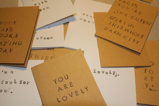card cuteness.